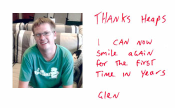 All-on-6 Dental Implant Review Thailand Glen - I can smile again for the first time in years.
